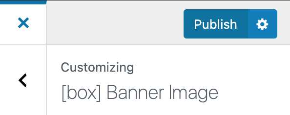Building and Customizing WPFreelance Theme - Publish change with Customize