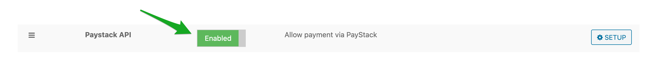 Set up Paystack Payment in WPFreelance Theme - Enable Paystack
