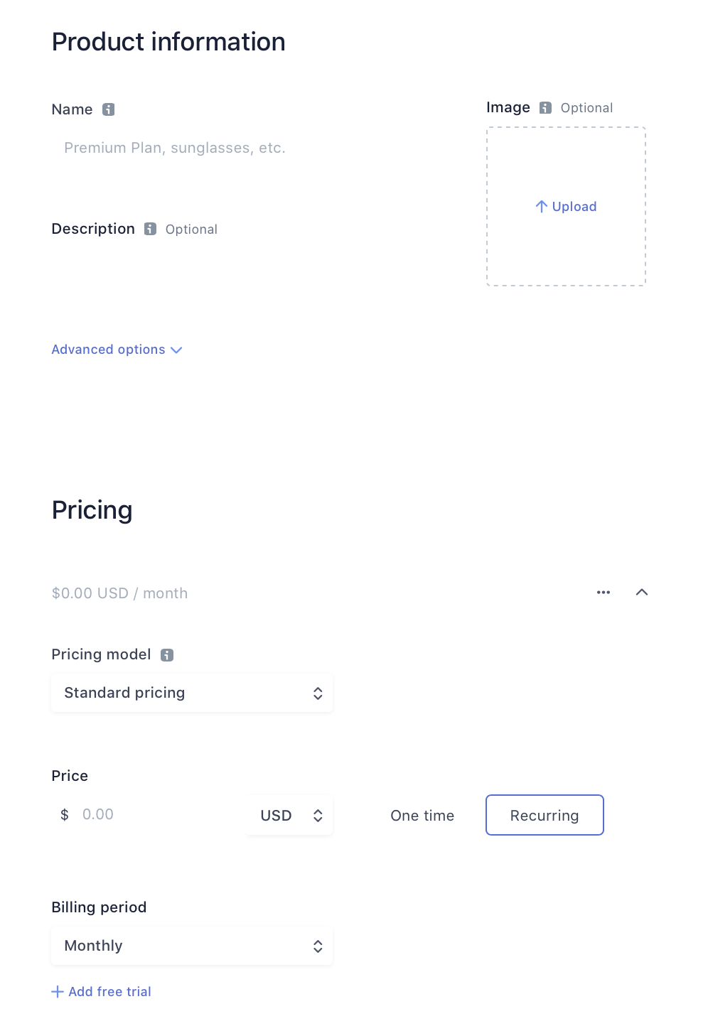 Set up Stripe Pricing ID in Membership_Product details