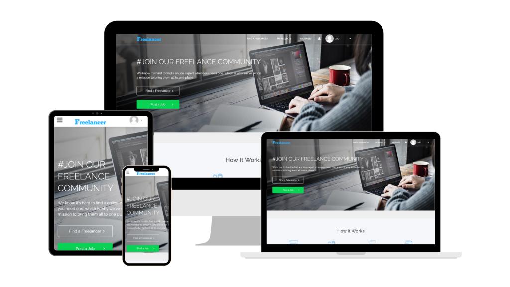 WPFreelance Theme - Minimal design